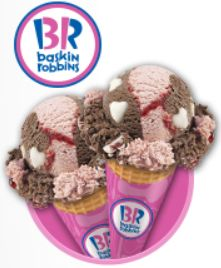 BOGO FREE Cone at Baskin Robbins on http://hunt4freebies.com/coupons