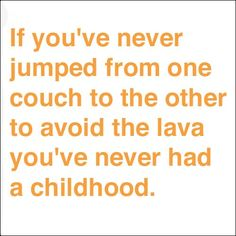 If you MUST touch the lava, jump out really far and run really fast and it won't burn you that bad!
