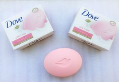 Dove pink/rosa beauty bathing bar review | Winter Series