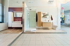 IDO-Kylpyhuonenäyttelyssä on esillä monenlaisia kylpyhuoneratkaisuja. #bathroom #bathroomdesign #interiordesign #homespa #scandinaviandesign #bathroomideas #bathroomsink #interiordecoration #toilet #sink #finnishdesign #bathroominspiration #ceramics  #bathroomidea #tap #washbasin #fauset #sanitary #porcelain #interiorideas #shower #showerhead #toiletseat #exhibition #modern
