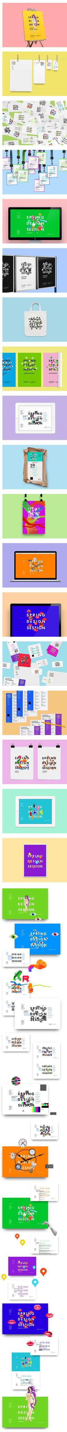 SPRING DESIGN SESSION by Vova Lifanov, via Behance