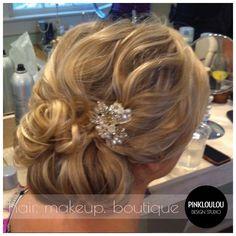 Bridal hair, wedding hair, updo