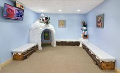 Snowy Winter Themed Children's Dental Office   Imagination Dental Solutions