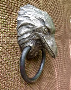 Raven doorknocker