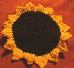 Everything Sunflowers to Crochet for Fall – 18 free patterns