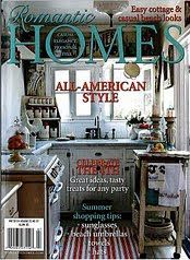 As Featured In Romantic Homes Magazine