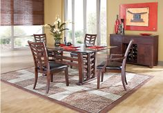 Shop for a Sutton Terrace  5 Pc Dining Room at Rooms To Go. Find Dining Room Sets that will look great in your home and complement the rest of your furniture.