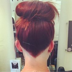 cool, trend, and hair image pointed undercut