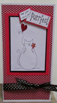 The Sparkly Fairy: A Happy Cat! for Handmade Harbour DT