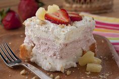 Heavenly Freezer Cake | mrfood.com