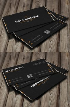 Hoover Creative Business Card #businesscards #visitingcards #businesscardtemplates #roundedbusinesscards #squarebusinesscards