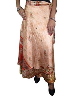 Reversible Silk Sari Magic Wrapskirt Chestnut Beach Wear Dress Mogul Interior http://www.amazon.com/dp/B00O2ZWEXA/ref=cm_sw_r_pi_dp_EO.kub02X4ZEQ