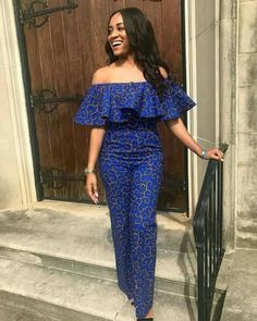 African jumpsuit,ankara jumpsuit,african women clothing/african print romper/ankara women clothing/ankara dress/african dresses for women African Print Jumpsuit, African Print Dresses, African Fashion Dresses, African Attire, African Wear, African Women, African Style, Fashion Outfits, African Prints
