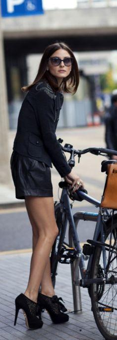Olivia-inspiration ♥ Bike and fashion