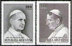 Sellos postales argentinos: El primer Papa del nuevo continente