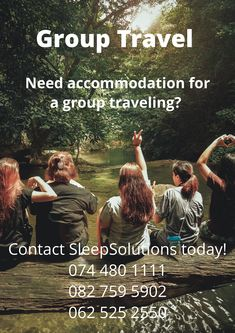 SleepSolutions-SA.com specialize in accommodation for groups. We offer a wide range of accommodation options to meet groups of different sizes, purposes and budgets. Better Travel Solution For Your Group - Let's Manage It For You! Group Travel, Trip Planning, Budgeting, How To Plan, Books, Range, Rice, Livros, Libros