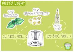 Pesto Light con il Bimby @Katia Beauchamp Beauchamp Beauchamp Ciancaglini #visualbimby