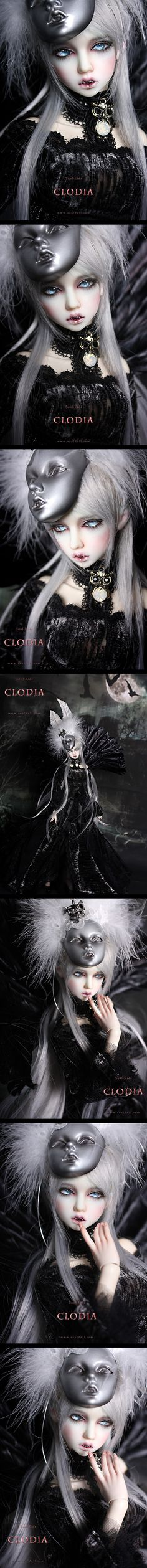 Clodia 43cm, Soul Doll - BJD Dolls, Accessories - Alice's Collections