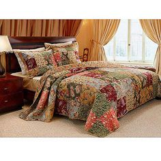 Global Trends Antique Chic Quilt Set: Walmart online  I love it! Want it for my master bedroom