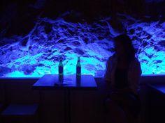 Bar in a cave. Makarska, Croatia.