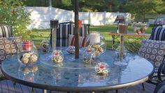 Kesä ja kynttilät - ihana yhdistelmä!