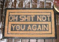 Hahaha!! So fitting for my crazy neighbor lady!