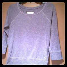 Very cute light sweatshirt Lightly worn very very cute sweatshirt so comfortable Abercrombie & Fitch Tops Sweatshirts & Hoodies