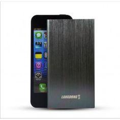 Bateria móvil portátil de  5800 mAh Ultra fina | carga tu móvil desde cualquier sitio con esta batería externa ultra fina. http://tusmoke.com/novedades/166-bateria-externa-5800-mah-ultra-fina-power-bank-metal.html