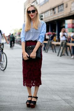 Platforms + Sophisticated Lace