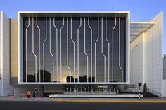 """""""Universidad del Pacifico"""" Branch Office / Metropolis - honeycomb"""