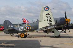 Royal Navy Historic Flight Hawker Sea Fury, VX281