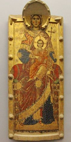 The National Museum of Capodimonte. Religious Images, Religious Icons, Religious Art, Byzantine Icons, Byzantine Art, Christian Artwork, Religious Paintings, Art Icon, Orthodox Icons