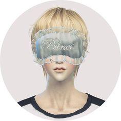 Male sleep eye mask at Marigold via Sims 4 Updates