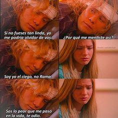 'Sos lo peor que me pasó en la vida, te odio'. #casiangeles #tachomorales #jazminromero #tachmin #niceuge