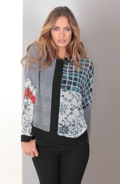 MISS TREND - BLOUSE IMPRIMEE