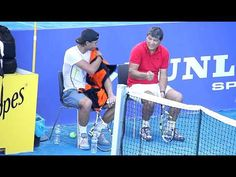 Toni and Rafa, smiling and chatting (Madrid practice video)