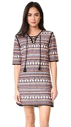 53bfe5d54d586 Antik Batik Women's Sancha Dress, Multico, 38 at Amazon Women's Clothing  store: