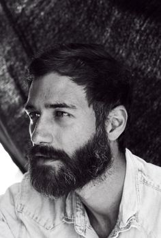 I have a theme going on here, but who doesn't love a good beard? It helps that he is beautiful.