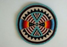 Native American Beaded Medallion | eBay