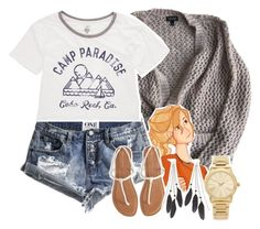 """""""Annabeth Chase"""" by ladymagique ❤ liked on Polyvore featuring Topshop, One Teaspoon, Aéropostale, Charlotte Russe, Michael Kors, Billabong, olympianfandomoutfits and angelamagique"""