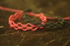 Unisex Squares Bracelet Tutorial by Macrame School - Love is Love