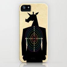 Shooting Target Unicorn iPhone & iPod Case