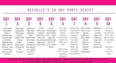 Script for parties