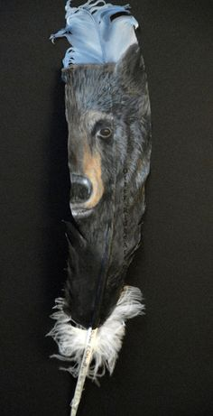 More painted feathers...Galleries - Debra Otterstein Wildlife Artist