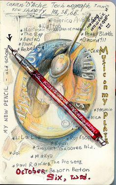 Sketchbook Shenanigans - Pat Perry | Sketches & Jottings