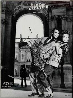1982  - Jean Paul Gaultier adv