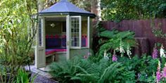The timber Summerhouse range from Scotts of Thrapston incorporates many different building designs.