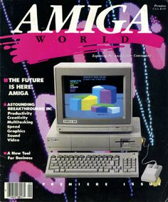 80's design: amigaworld-cover
