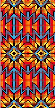 Discover thousands of images about native loom beading patterns Beaded Flowers Patterns, Native Beading Patterns, Beadwork Designs, Native Beadwork, Bead Loom Patterns, Weaving Patterns, Cross Stitch Patterns, Quilt Patterns, Knitting Patterns