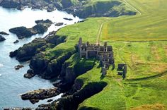Slains Castle, Scotland